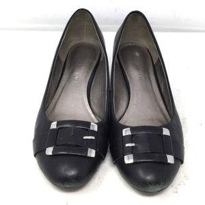 Dana Buchman Women's Shoes Sz 7.5M Black Wedge